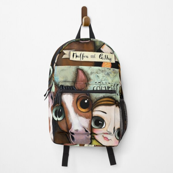 The girl and the horse Backpack
