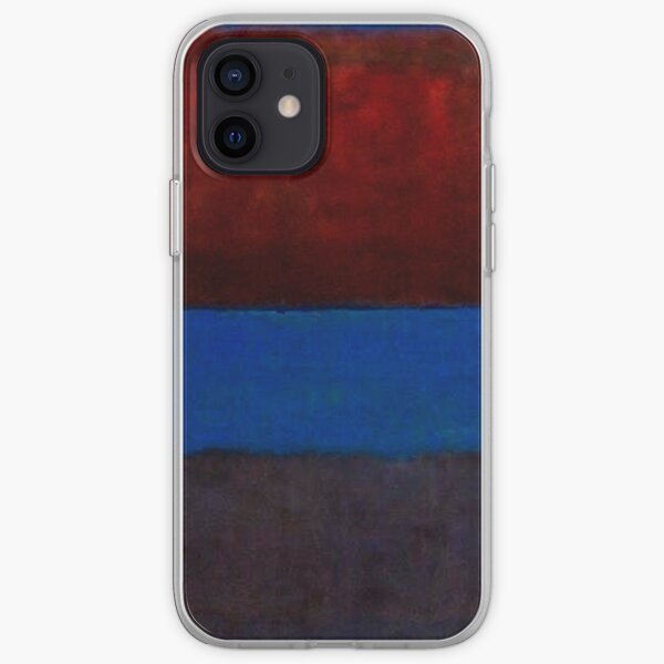 Mark Rothko   Nr. 61 (Rost und Blau) iPhone Flexible Hülle