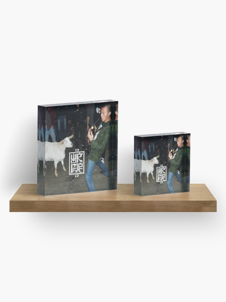 Alternate view of The Goat 2 Acrylic Block