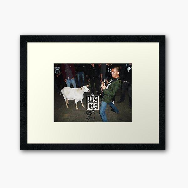The Goat 2 Framed Art Print