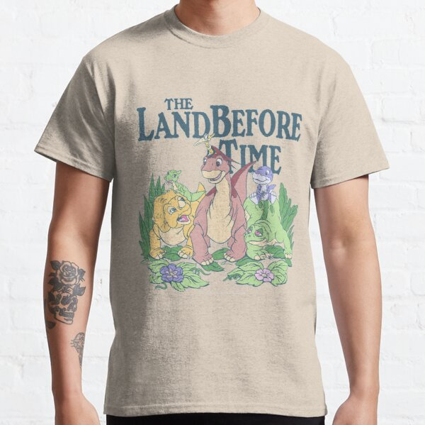 Land Before Time Pastel Dinosaur Friends  Classic T-Shirt
