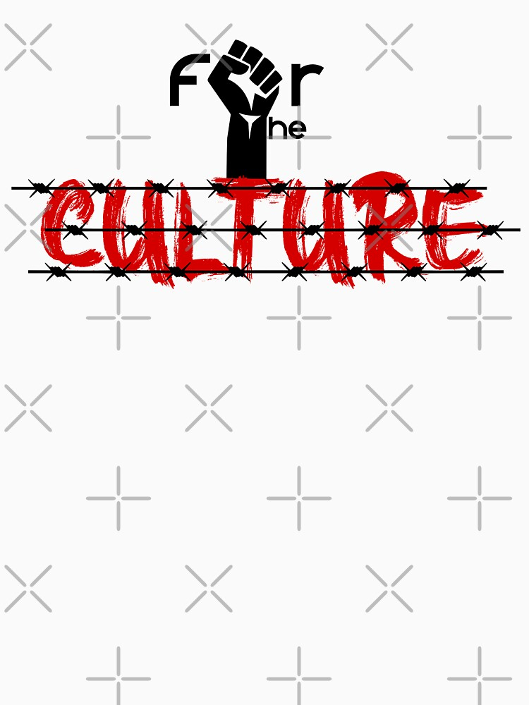 For The Culture by Mickydee.com by MickyDeeTees