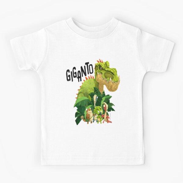 "Gigantosaurus Giganto & 4 Kid Dinos ""Giganto""  Kids T-Shirt"