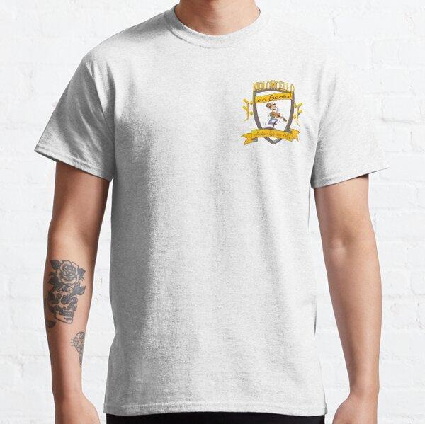 Heart size cartoony da spalla shield Classic T-Shirt