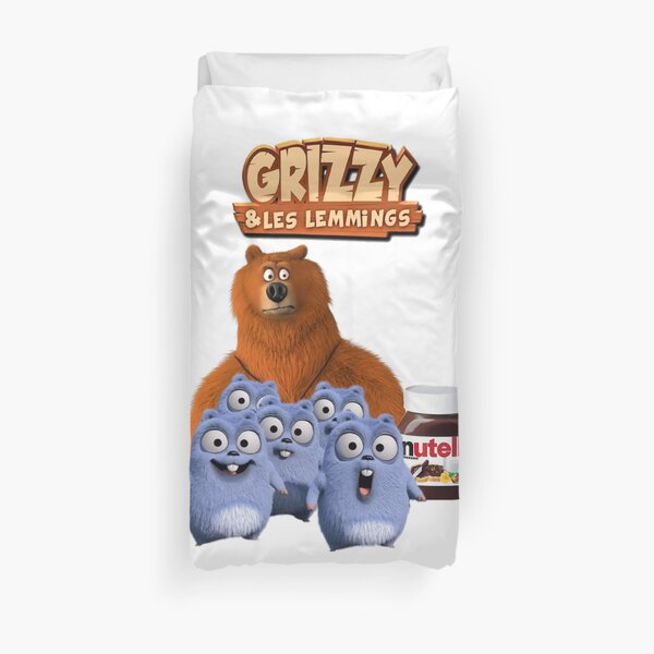 Grizzy and lemmings Duvet Cover