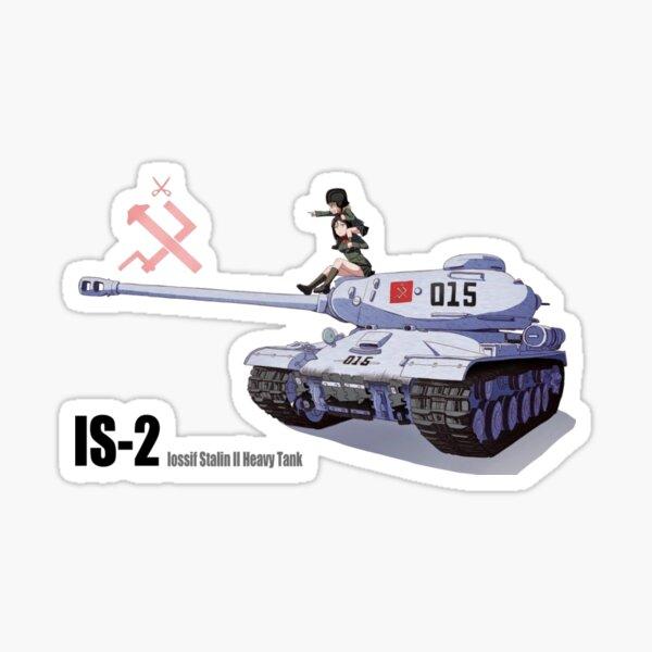 Girls Und Panzer - Katyusha and Nonna Sticker