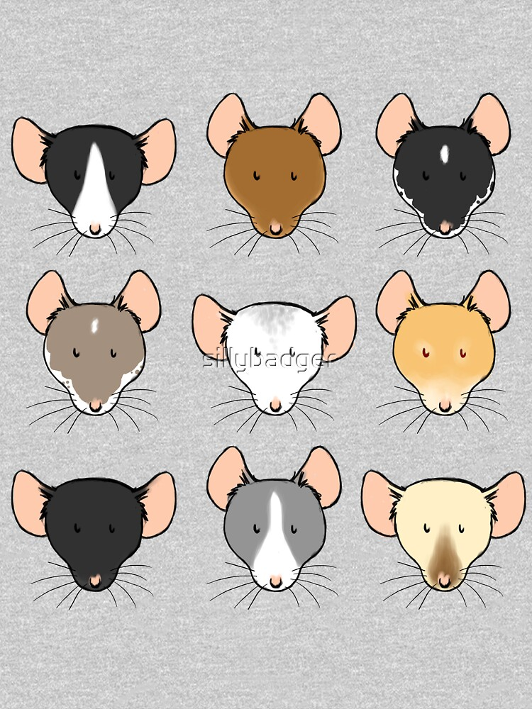 Ratty Faces by sillybadger