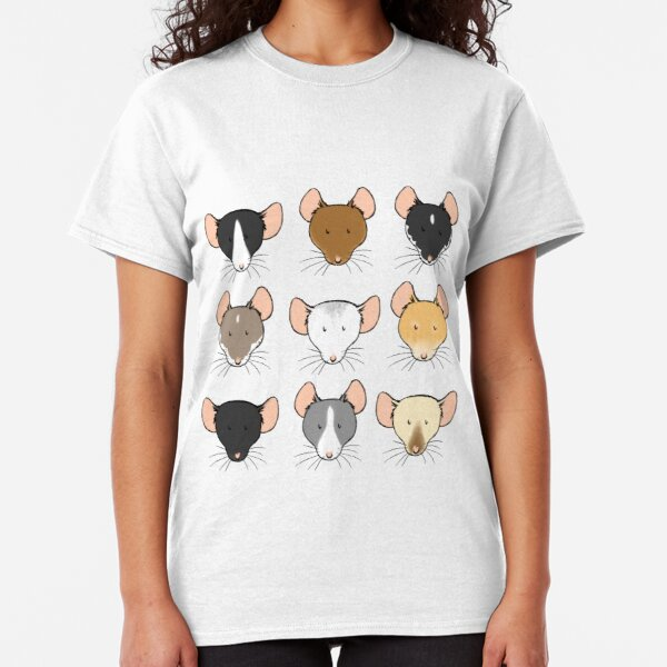 Ratty Faces Classic T-Shirt