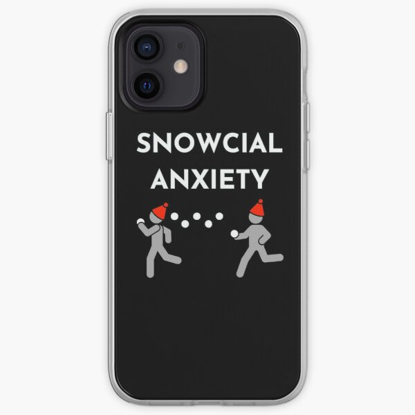 Snowcial Anxiety iPhone Soft Case