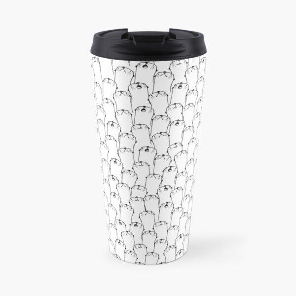 Otter pattern Travel Mug