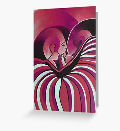Touched By Africa II Greeting Card