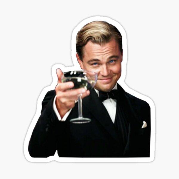 Leonardo DiCaprio meme Pegatina