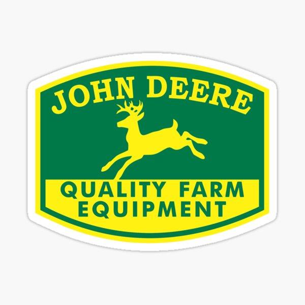 BEST TO BUY - John Deere Logo Sticker
