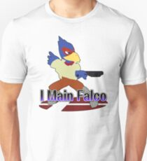 I Main Falco - Super Smash Bros Melee Unisex T-Shirt
