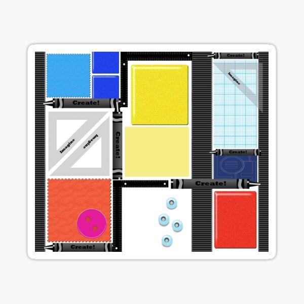 Imagine  - Create! Sticker