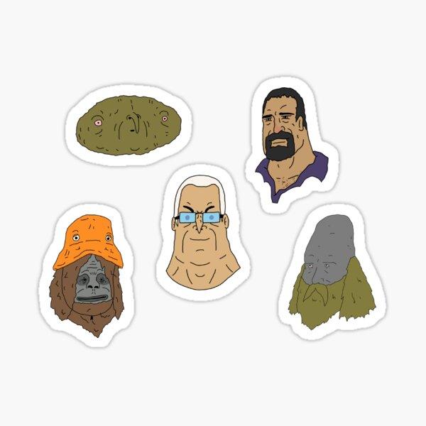 The Big Lez Show gang Sticker