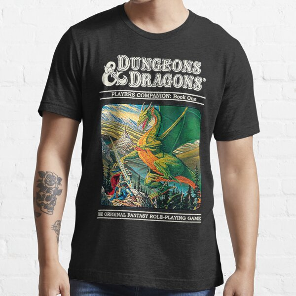 Dungeons & Dragons Retro cover Essential T-Shirt