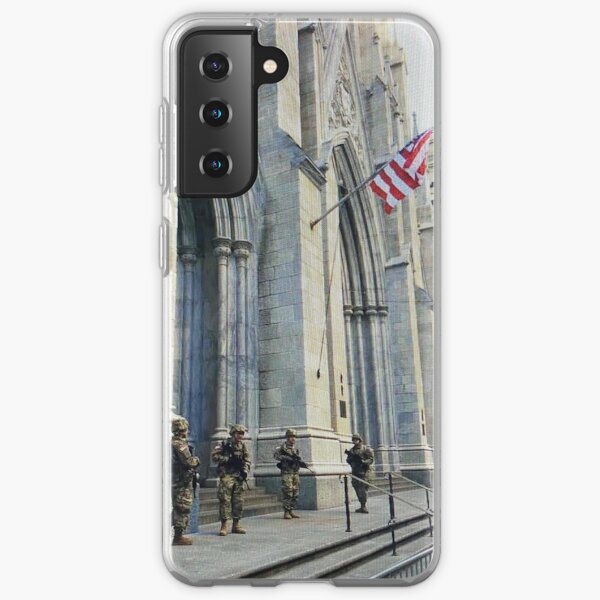 Military at St. Patrick's Cathedral  Samsung Galaxy Soft Case