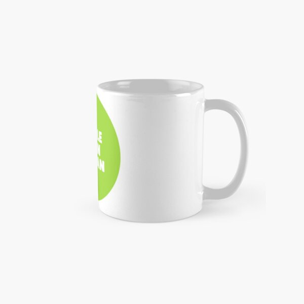 Whole Damn Woman Bubble Logo Classic Mug