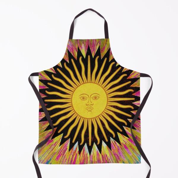 Psychedelic Sun Star / Bohemian Zen Hippie Festival  Apron