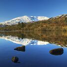 Coniston - Old Man and Water by Jamie  Green