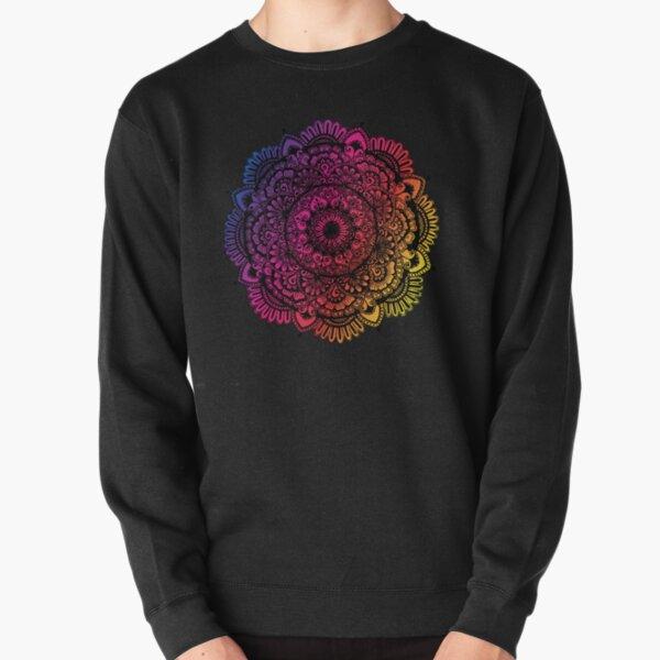 Mandala Art (Colorful) Pullover Sweatshirt