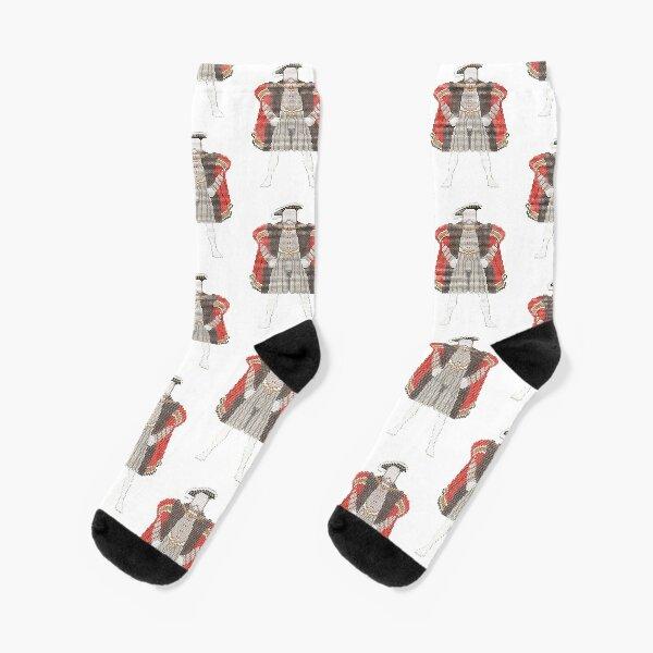 Henry VIII tapestry Socks