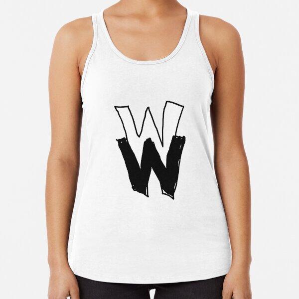 Wrong Windows Double-W Logo Variant #1 (Sketchy) Racerback Tank Top