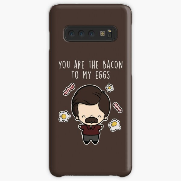You are the bacon to my eggs Samsung Galaxy Snap Case