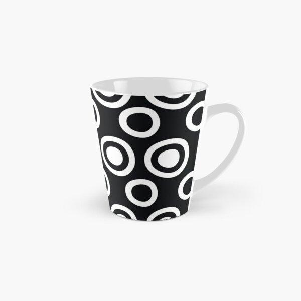 Black and White Circles Remix Tall Mug