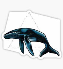 Humpback Sticker