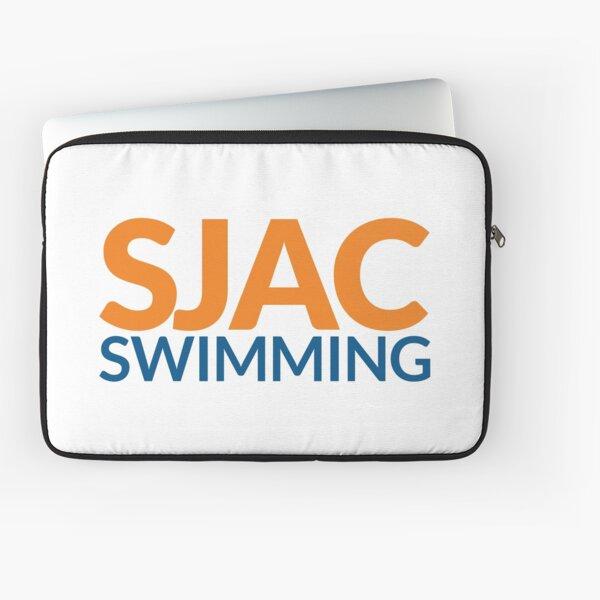 SJAC White Laptop Sleeve