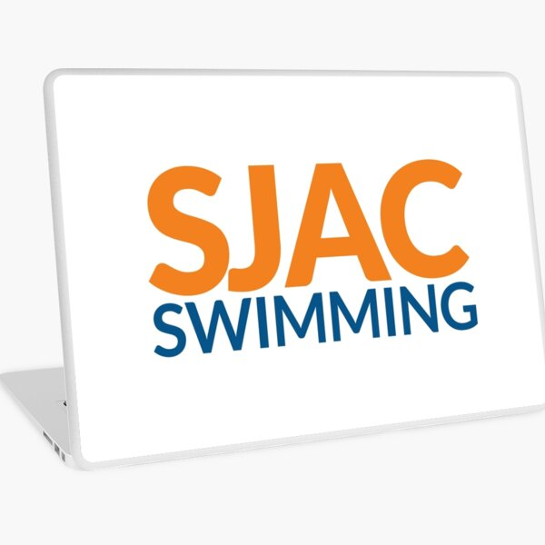 SJAC White Laptop Skin