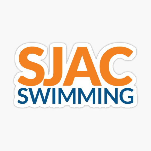SJAC White Sticker