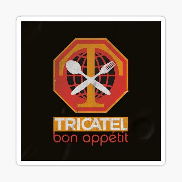 TRICATEL Sticker