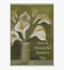 Have A Wonderful Mother's Day Photographic Print