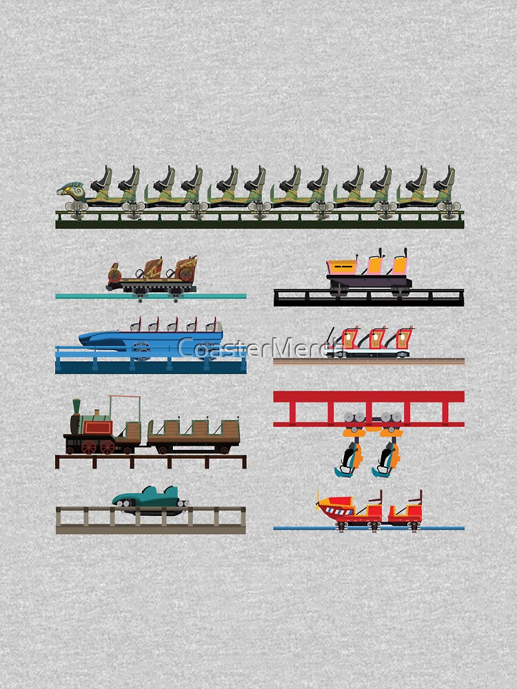 Walibi Belgium Coaster Cars Design by CoasterMerch