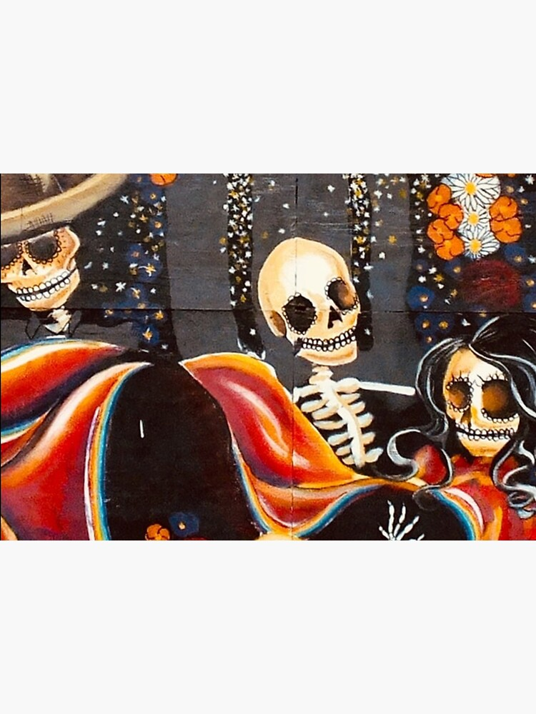 dia de muertos pattern by ds-4
