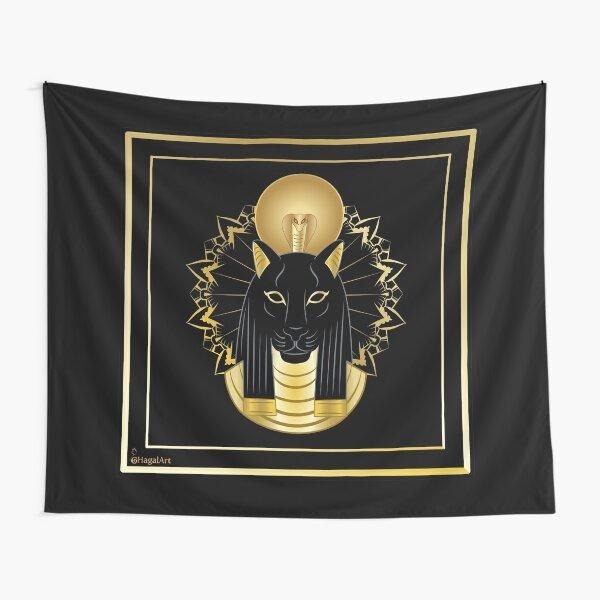 The egyptian goddess Sekhmet Tapestry
