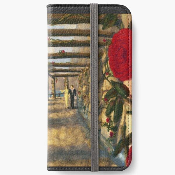 Romantic Medieval Fantasy Art Scene iPhone Wallet