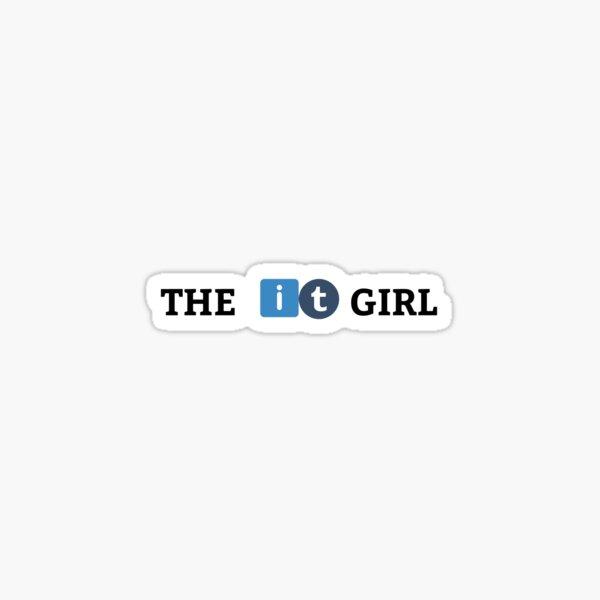 The Information Technology Girl Sticker