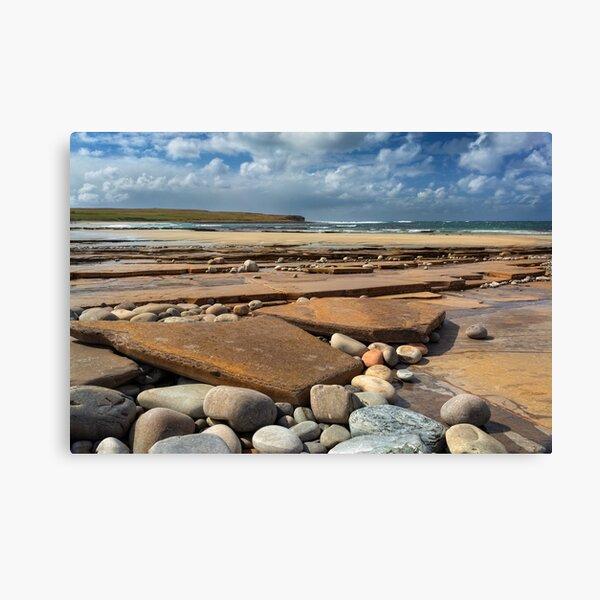 Skaill Beach Orkney Isles Scotland Canvas Print