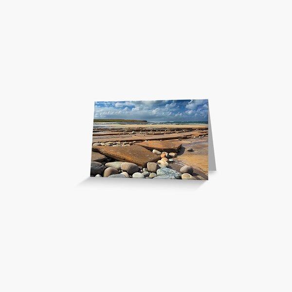 Skaill Beach Orkney Isles Scotland Greeting Card