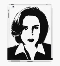 X-Files - Dana Scully iPad Case/Skin
