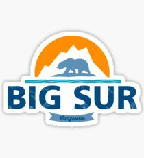 Big Sur. Sticker