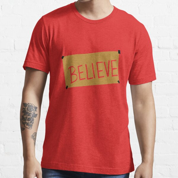 BELIEVE LOGO ESSENTIAL C1 TOP SELLING Essential T-Shirt