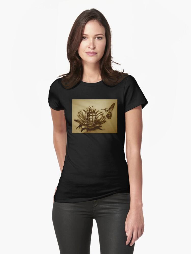 Unnatural Selection Womens T-Shirt Front