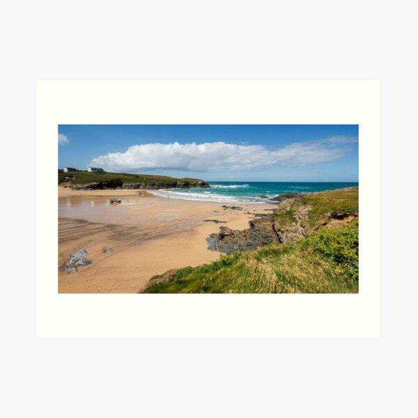 Treyarnon Bay,North Cornwall Art Print