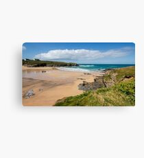 Treyarnon Bay,North Cornwall Canvas Print