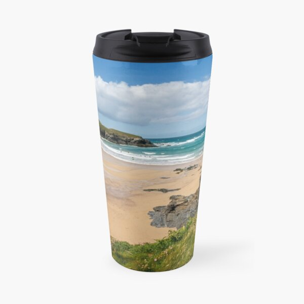 Treyarnon Bay,North Cornwall Travel Mug